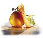 Garnelen-Pfirsich-Gröstl
